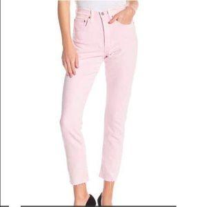 Amazing Levi's 501 pink